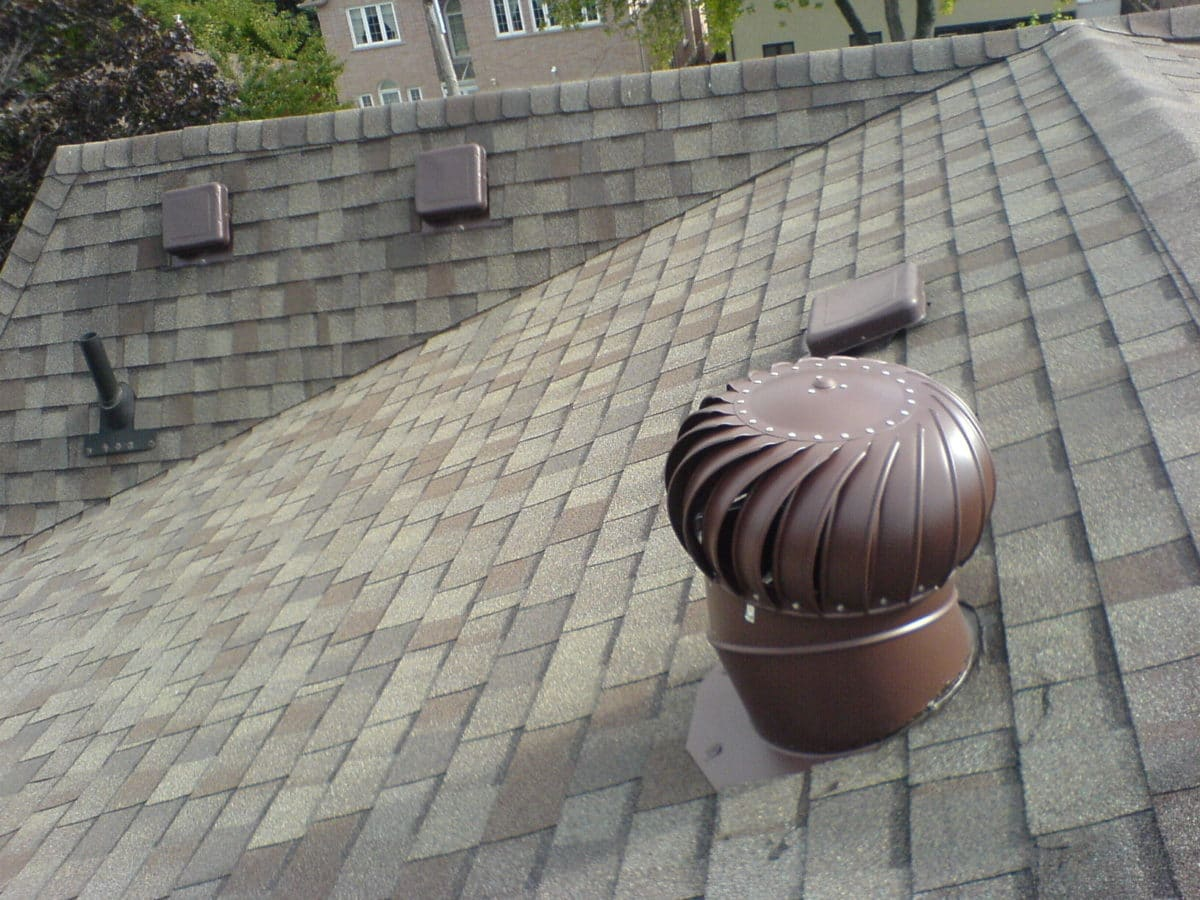Turbine Roof Ventilators : Attic ventilation silver spring md sealing and insulating